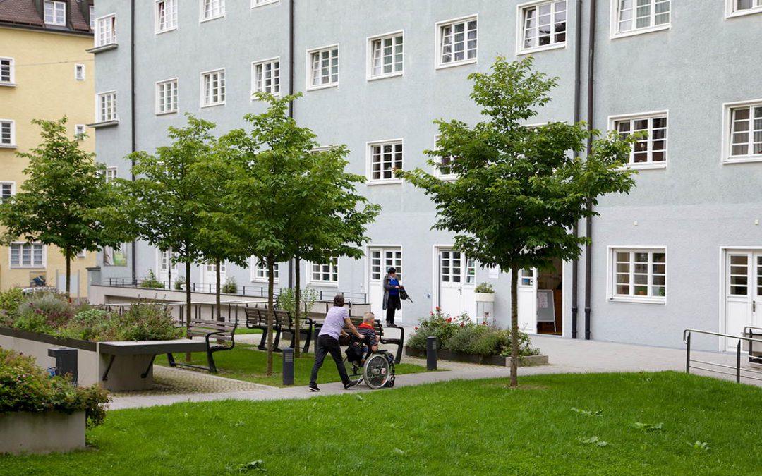 Außenansicht Nachbarschaftstreff am Walchenseeplatz